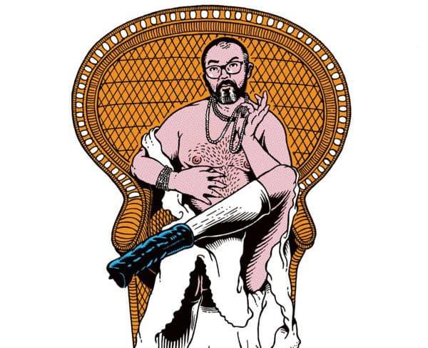 Le dessinateur Stéphane Trapier, qui s'occupe des affiches du théâtre du Rond-Point