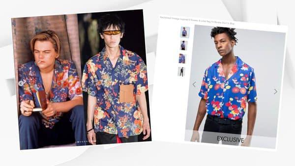 Des chemises Palm Angels et Reclaimed Vintage
