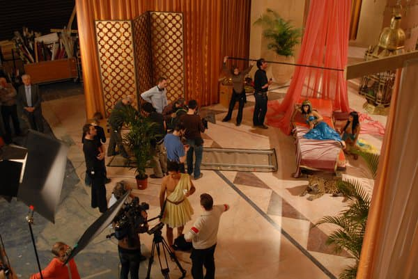 """Le tournage de """"Cinéman"""" de Yann Moix"""