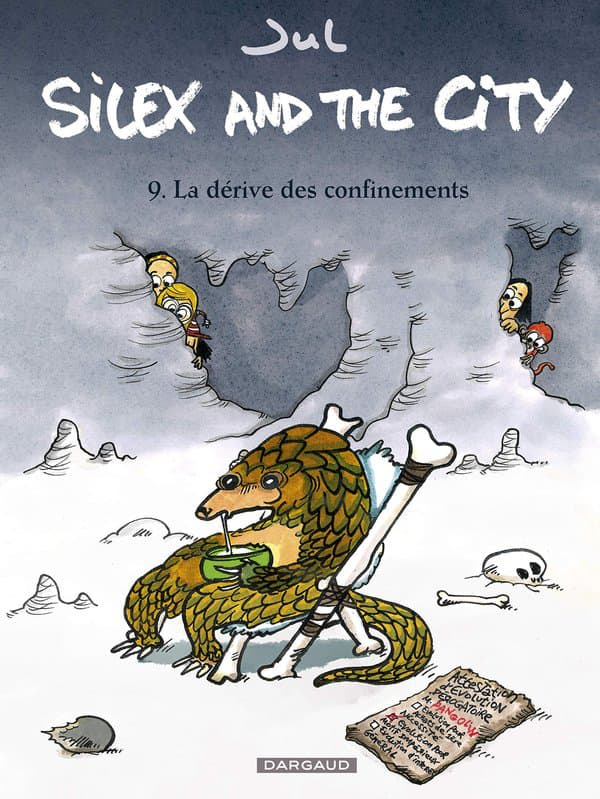 "Couverture du neuvième tome de ""Silex and the City"""