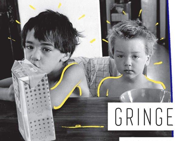 Détail de la couverture du livre de Gringe