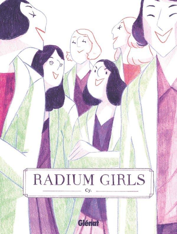 """La BD """"Radium Girls"""""""