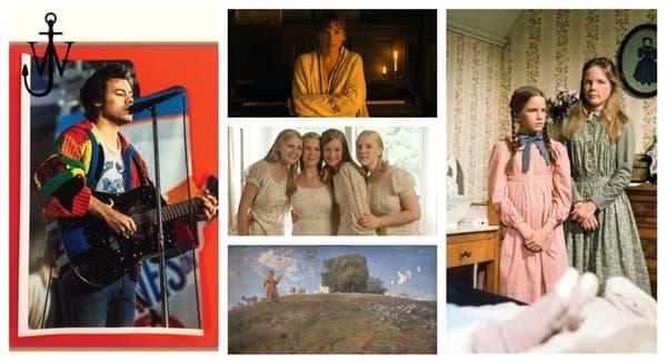 Le cardigan d'Harry Styles et celui de Taylor Swift, le film Virgin Suicides, les tableaux de Jean-François Millet, la série La petite maison dans la prairie