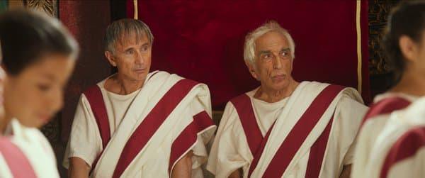 """Thierry Lhermitte et Gérard Darmon dans """"Brutus vs. César"""""""