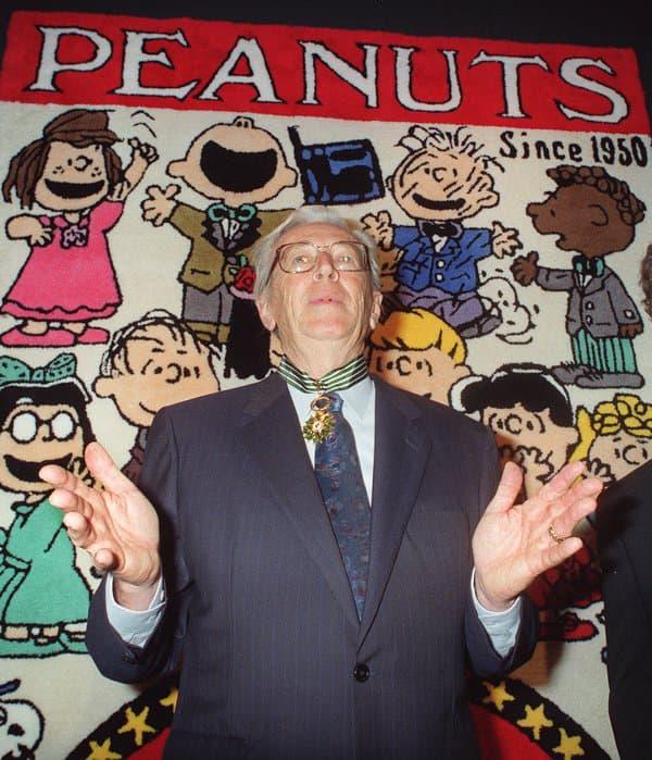"""Charles Schulz, le créateur de """"Snoopy & Les Peanuts"""""""