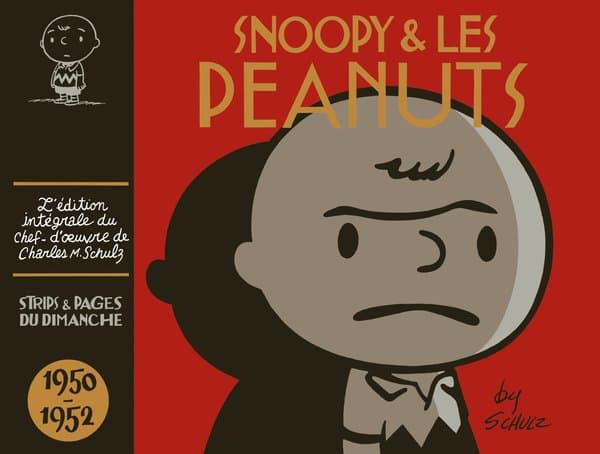 """Couverture du premier tome de l'intégrale de """"Snoopy & Les Peanuts"""" de Charles Schulz"""
