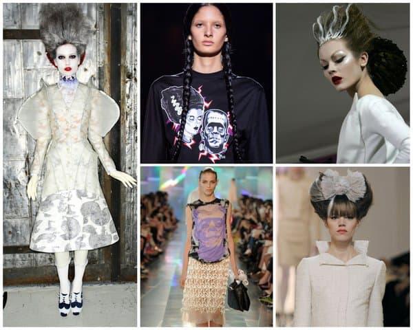 Des extraits de défilés Dior, Chanel, Thom Browne, Prada et Christopher Kane