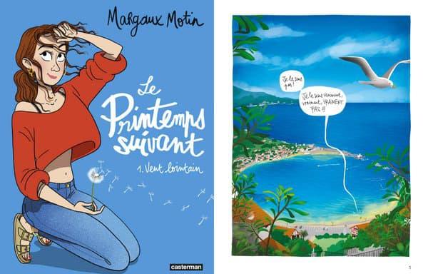 """""""Le Printemps suivant"""", la nouvelle BD de Margaux Motin"""