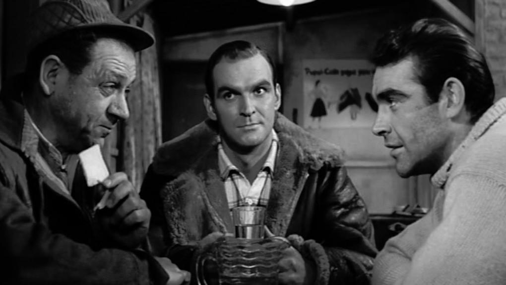"""""""Train d'enfer"""" (1957), un des tous premiers films de Sean Connery"""