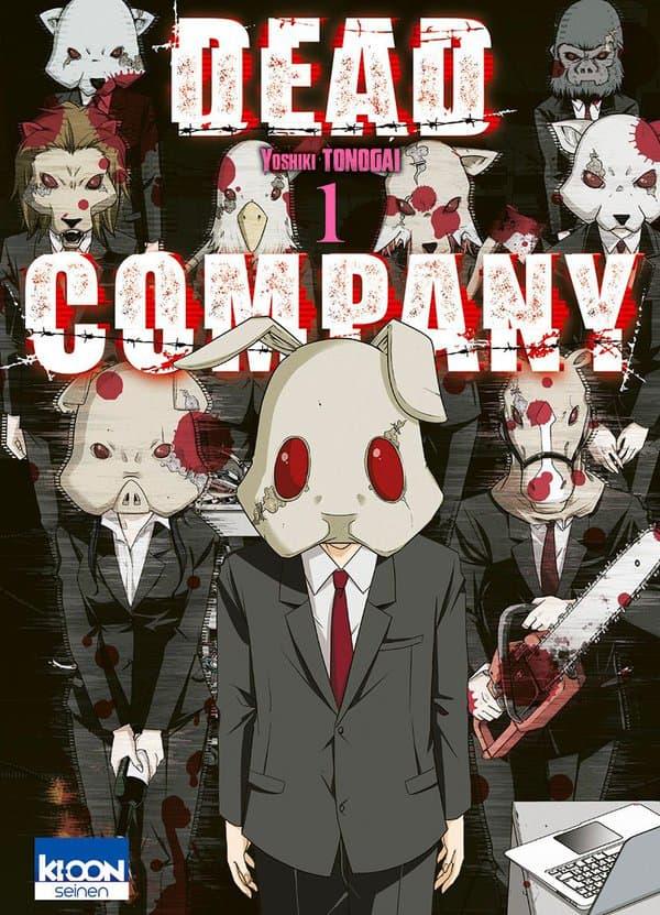 """Couverture de """"Dead Company"""""""