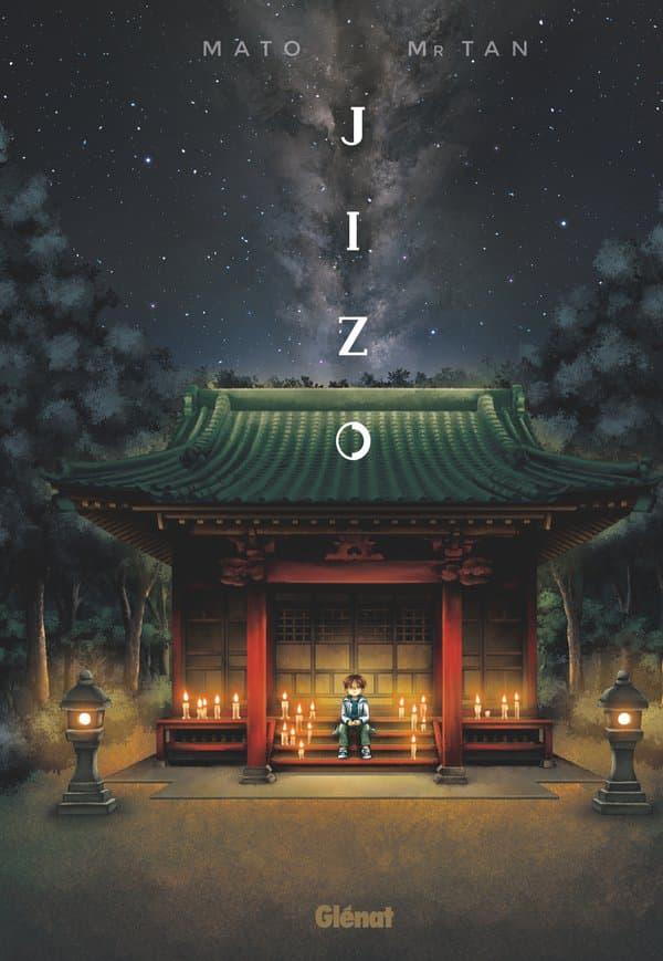 """Couverture de """"Jizo"""", le nouveau manga de Mr Tan, le créateur de """"Mortelle Adèle"""""""