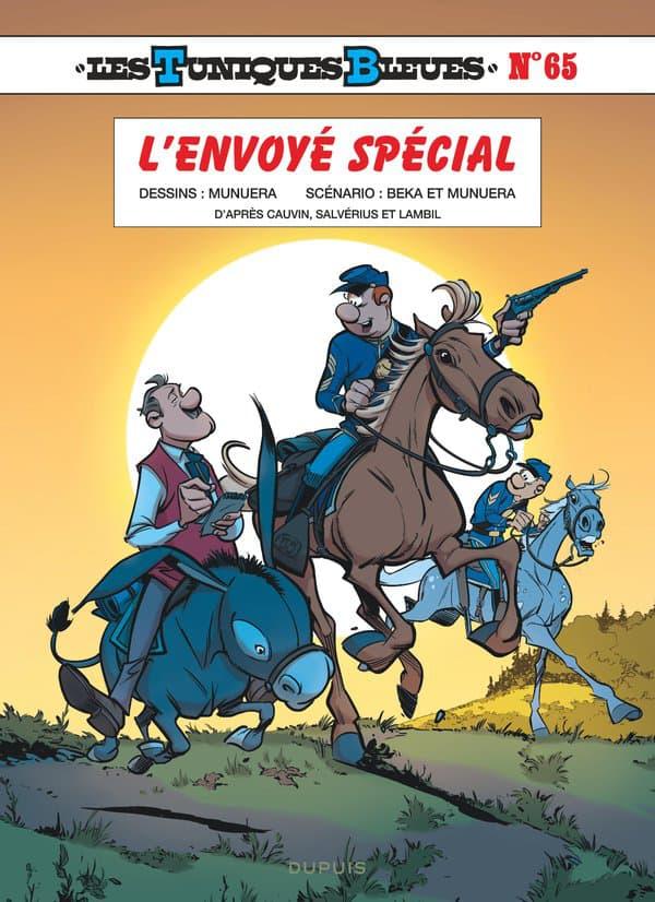 """Couverture du nouvel album des """"Tuniques Bleues"""""""