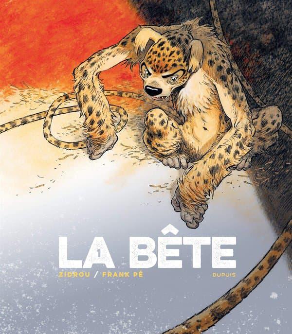 """Détail de la couverture de """"La Bête"""", relecture réaliste du Marsupilami"""