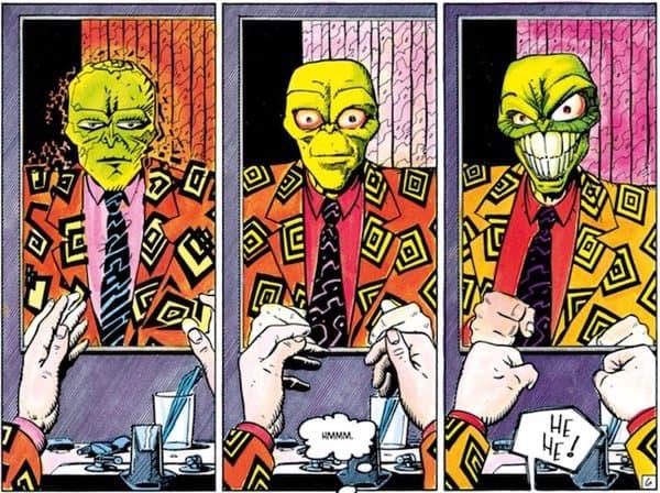 """La première apparition de """"The Mask"""""""