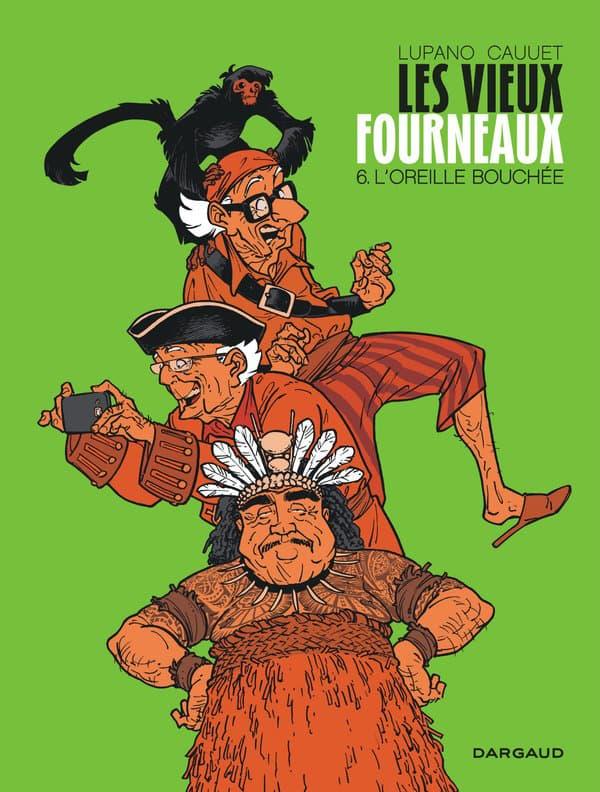 """Le nouvel album des """"Vieux Fourneaux"""""""