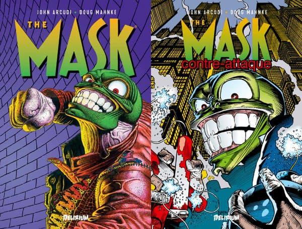 """Les couvertures des BD """"The Mask"""""""