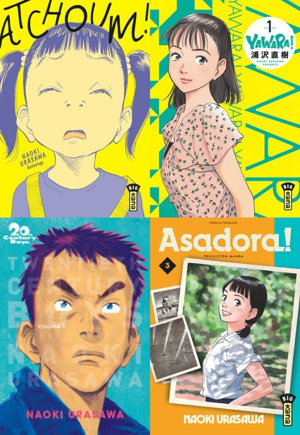 Retour en force de Naoki Urasawa dans les librairies