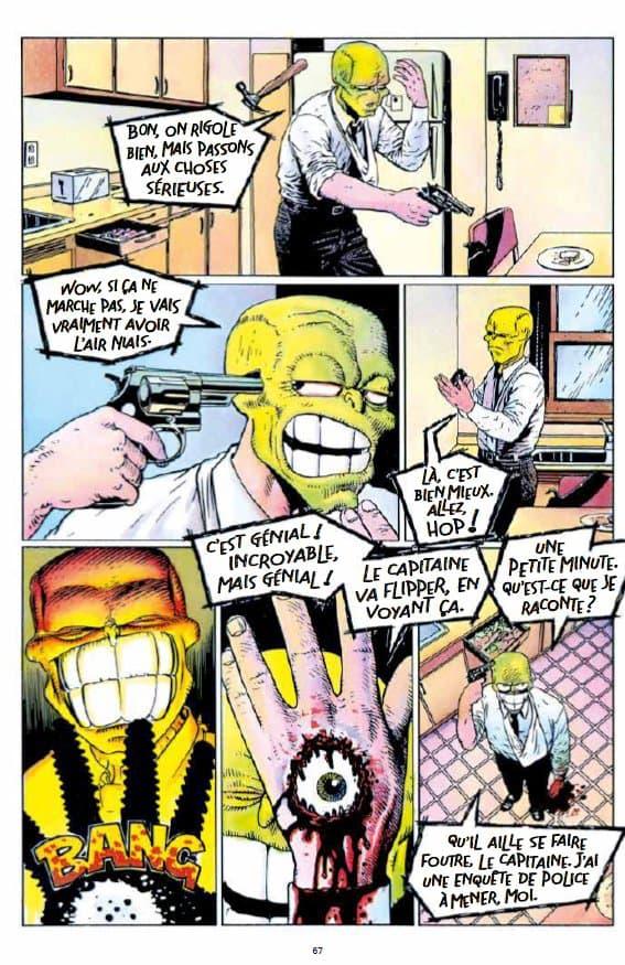 """Une planche de """"The Mask"""""""