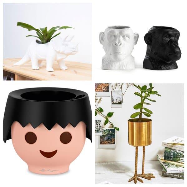 Des cache-pots originaux