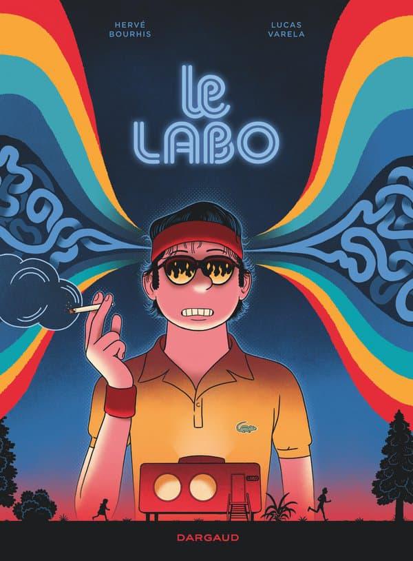 """Couverture de l'album """"Le Labo"""" de Hervé Bourhis et Lucas Varela"""