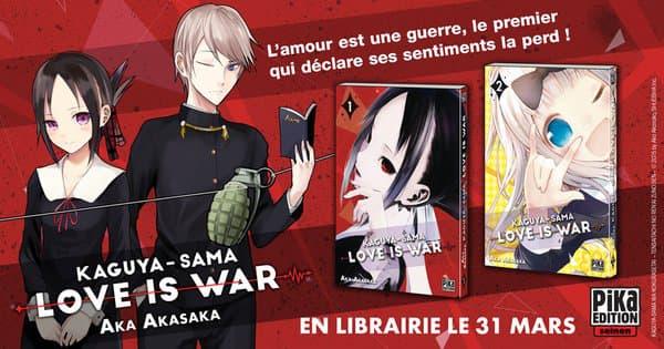 """""""Kaguya-sama"""", le manga phénomène d'Aka Akasaka"""