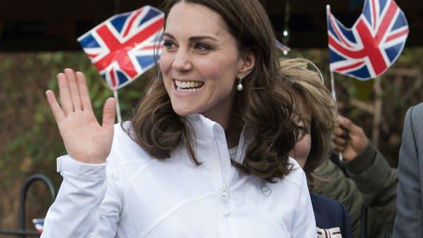 Kate Middleton à Wimbledon en 2018