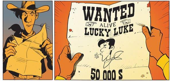 A qui appartient Lucky Luke?