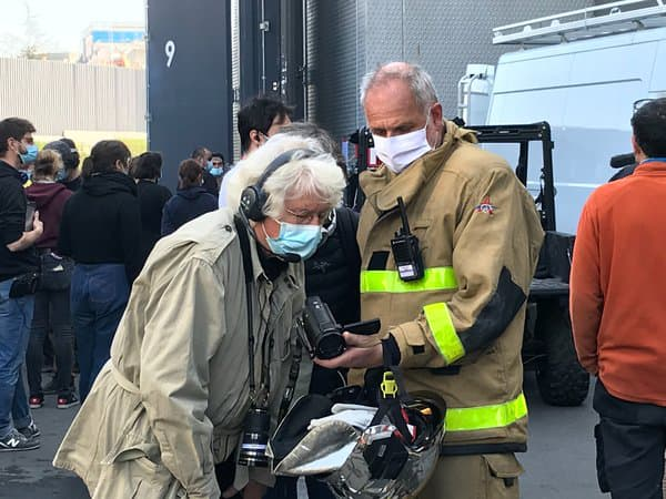 """Jean-Jacques Annaud sur le tournage de """"Notre-Dame brûle"""""""