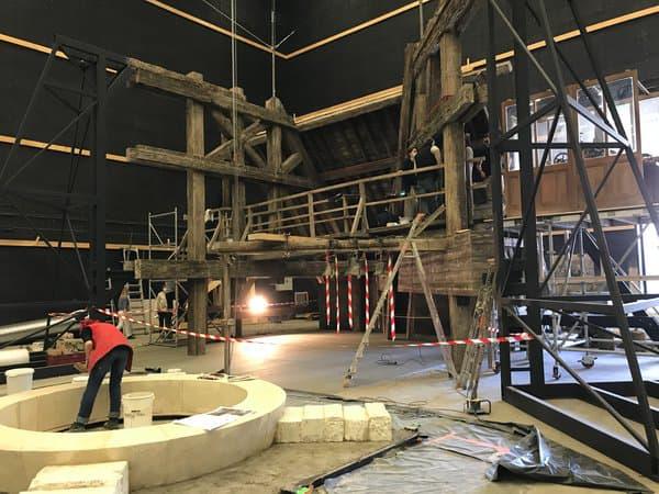 """Le tournage de """"Notre-Dame brûle"""" de Jean-Jacques Annaud"""
