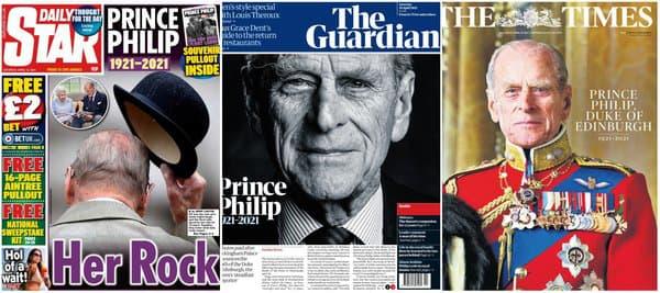Les Unes du Time, du Guardian, et du Daily Star.