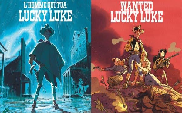 Lucky Luke par Mathieu Bonhomme