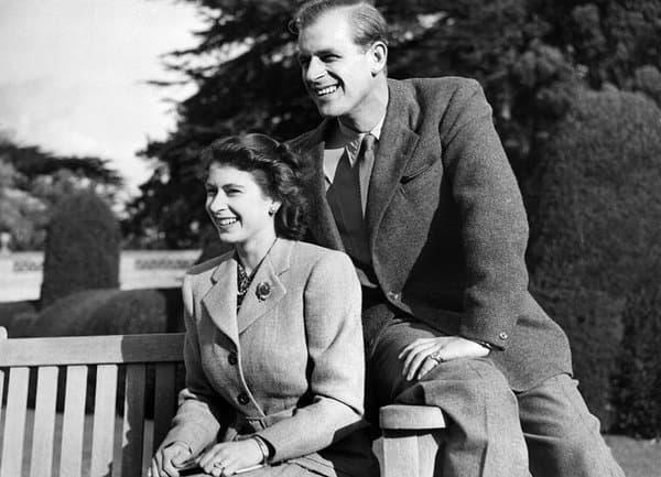 Philip et Elizabeth, l'année de leur mariage en 1947.