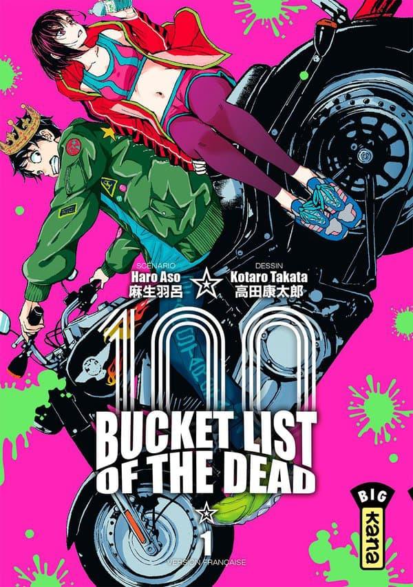 """La manga """"Bucket List of the Dead"""""""